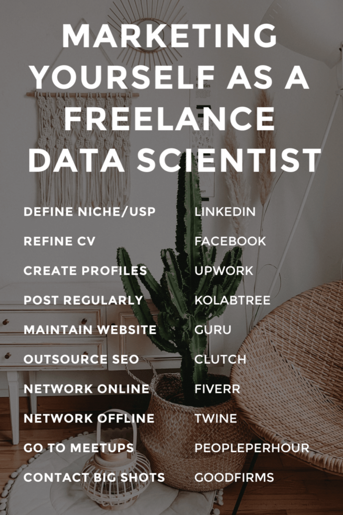 Marketing yourself as a a freelance data scientist